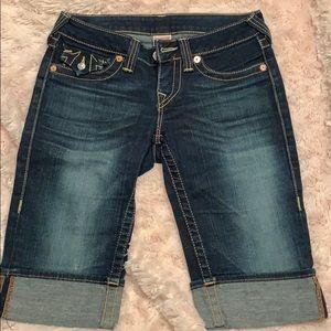 TrueReligion Jean shorts 26